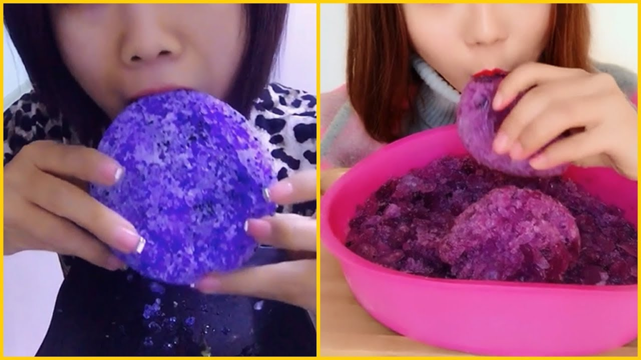 ASMR Delicious Popsicle Mouth Sounds ICE EATING ASMR