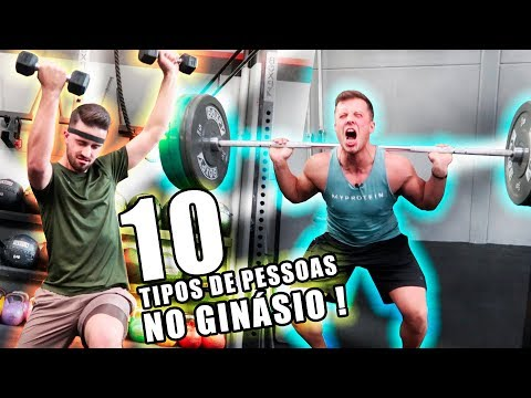 10 TIPOS DE PESSOAS NO GINÁSIO !