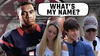 Alabama students try to pronounce 4-star QB commit Tua Tagovailoa's name