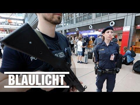 Doppelstreife zum G20-Treffen - Polizei aus Österreich am Hamburger Flughafen