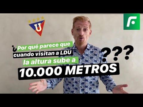 """Martín LIBERMAN: """"Liga de Quito es el EQUIPO que MARCA el"""