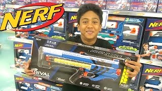 """NERF SHOPPING at Toys """"R"""" Us"""