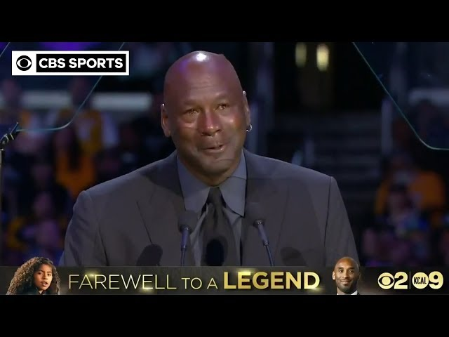 "\""When Kobe Bryant died, a piece of me died.\"" - Michael Jordan | CBS Sports"