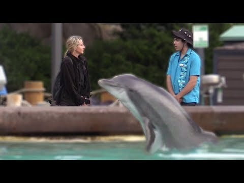 Fake Sea World Employee Prank!