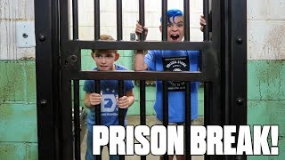 Maximum Security PRISON BREAK! Escape Room In Real Life (FUNhouse Family)