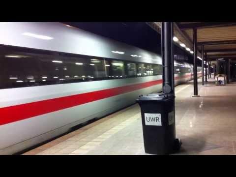 Ausfahrt ICE 1 in Karlsruhe Hbf ( Mit Tollem Sound )