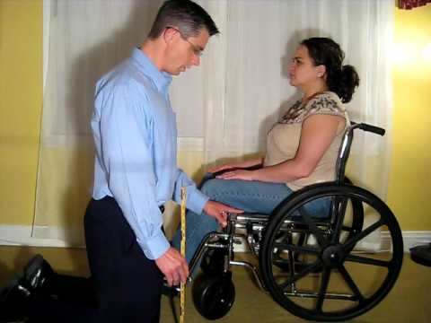 Measurement of the Patient for a Wheelchair Seating System