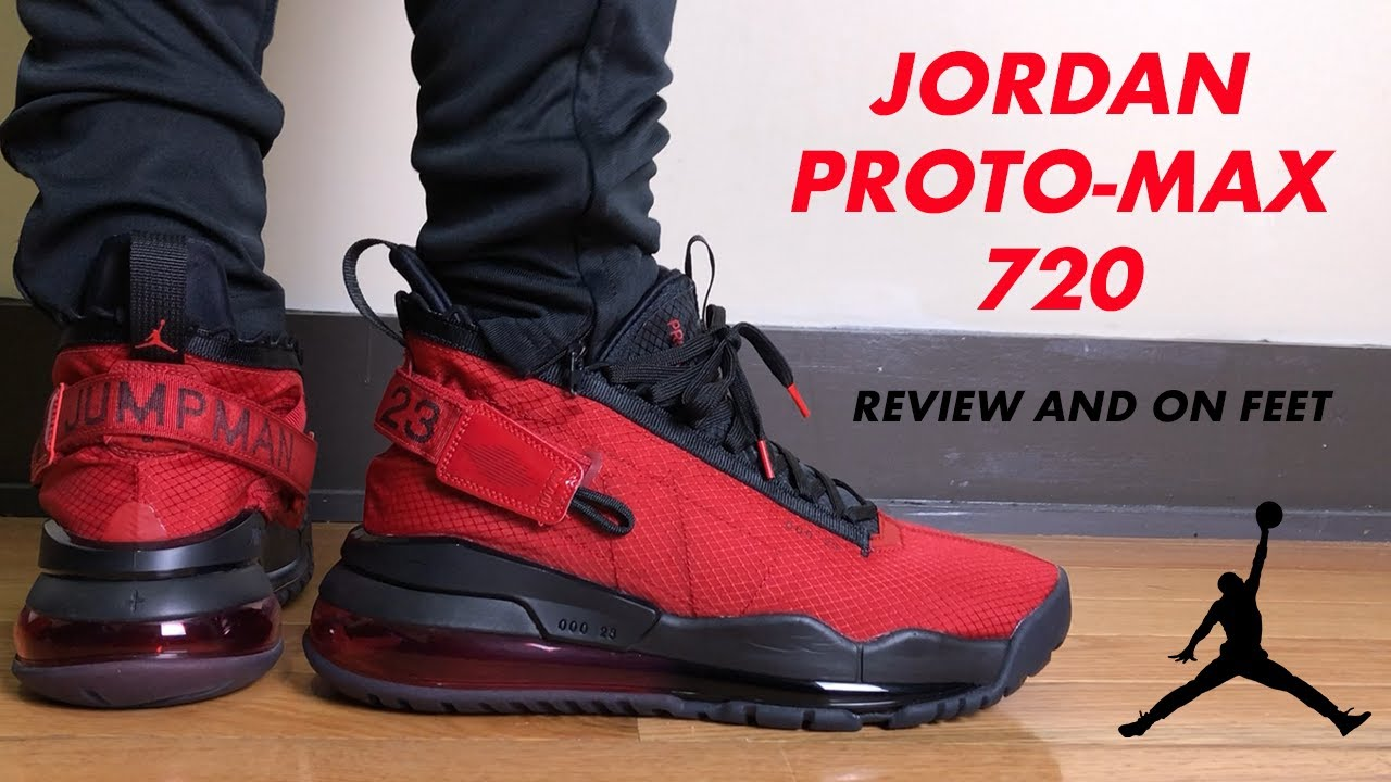 4085343de20d Jordan Proto Max 720 Review and On Feet - YouTube