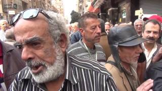 مصر العربية | أحد أصحاب المعاشات: نتنياهو أرحم من حكام مصر
