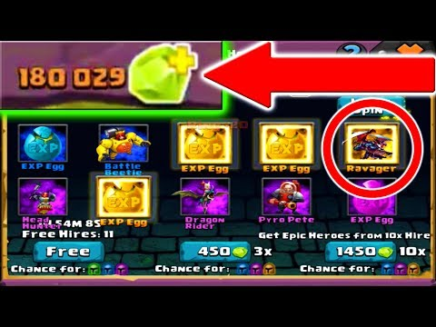 OMG ROLLING 180,000 JEWELS IN CLASH OF LORDS 2!!!