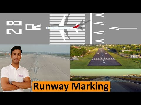 Runway Markings Explained [Hindi]