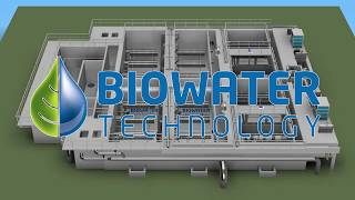Biowater Technology CFIC® Wastewater Treatment Plant in Jin Bai, China
