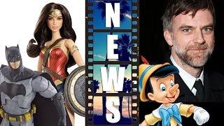 Comic Con 2015 Batman v Superman Mattel Toys, Paul Thomas Anderson