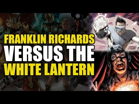 Franklin Richards vs White Lantern Kyle Rayner (Marvel vs DC)