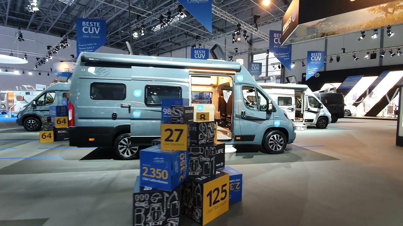 Download 2022 Knaus campervans at Caravan Salon Dusseldorf