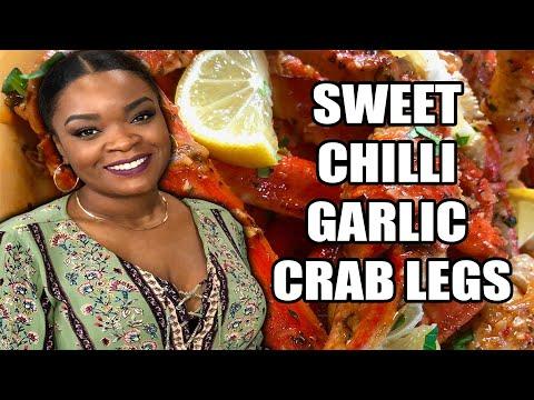 How To Make Sweet Chili Garlic Crab Legs