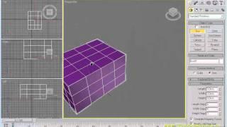3dsMAX Урок 01. Настройка видовых экранов. Виды привязок.