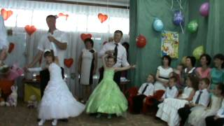 танец пап с дочками Malenkaya dochka - Igor Nikolaev