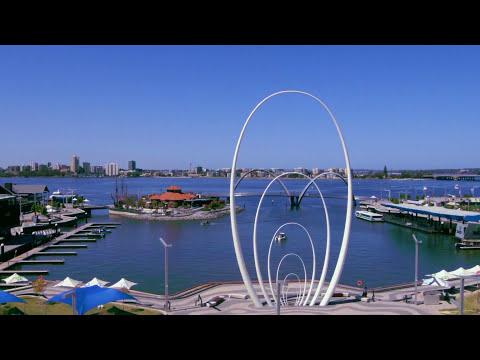 Travel OZ - Elizabeth Quay, Burswood park - Perth, Australia