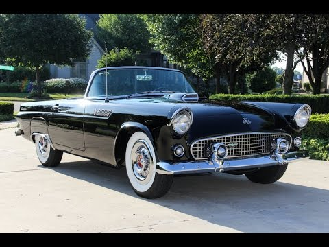 1955 ford thunderbird for sale youtube. Black Bedroom Furniture Sets. Home Design Ideas