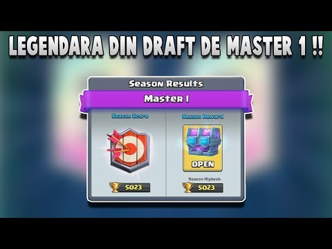 DESCHIDEM PRIMUL DRAFT CHEST DE MASTER 1 !! Clash Royale Romania