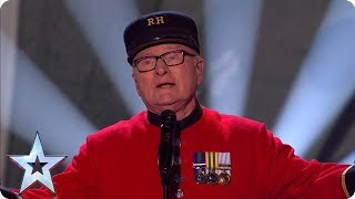 Colin Thackery and the Chelsea Pensioners sing for their sweethearts | Semi-Finals | BGT 2019