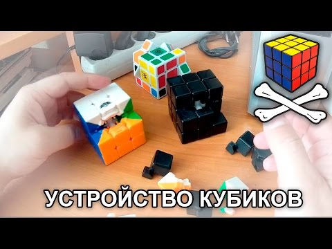 Как устроен кубик рубик