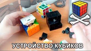 Кубик Рубика внутри — препарирование Cyclone Boys и простого дешёвого кубика