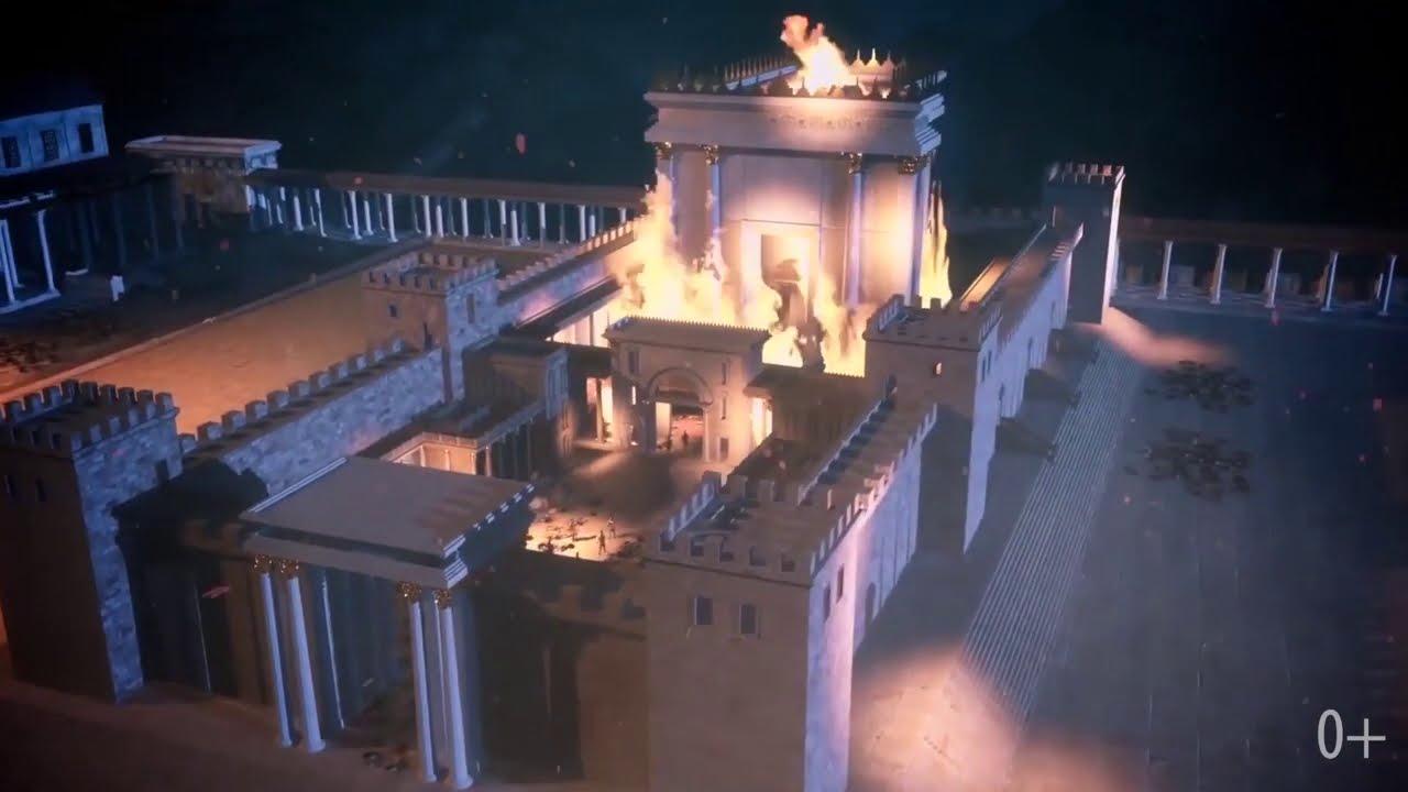 """Пронзительная еврейская песня """"Из-за наших грехов был разрушен Храм..."""""""