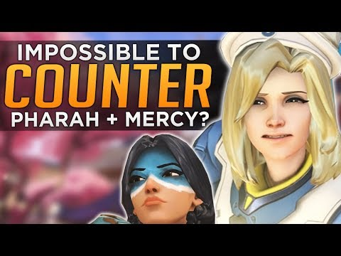 Overwatch: Pharah + Mercy IMPOSSIBLE To Counter!?