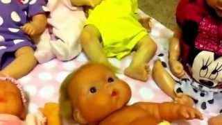 Reborn baby doll collection