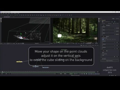 3D Camera tracking in blackmagic fusion