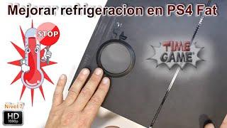 Mejorar refrigeracion creando entrada de aire directa PS4 Fat