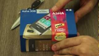 Nokia Asha 308 Unboxing and Hands on Review - iGyaan