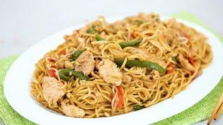 Easy Chicken Chow Mein Recipe   Yummy Ph