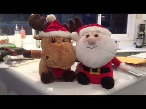 Christmas toys singing