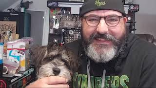 Mac & I are Threatened to Arrest by Dumb SSA Scammer & Mac Eats my Hand!
