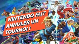 NINTENDO : sont-ils allé TROP LOIN en annulant ce tournoi Smash Bros. ?