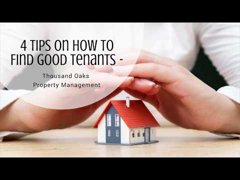 4 Tips on How to Find Good Tenants