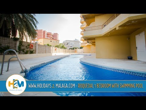 Holidays 2 Malaga - Apartment for Rent Roquedal Torremolinos with Swimming Pool