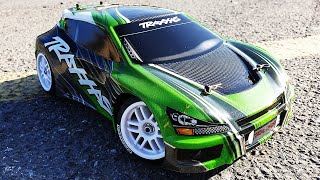 Traxxas RALLY RACER VXL RC Racing Car - UNBOX & TEST - Kids RC Toys