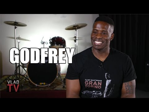 Godfrey Talks About Black Thought Freestyle, Tries to Freestyle Himself Part 1