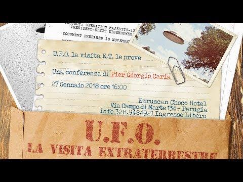 UFO: La visita Extraterrestre - le prove - Perugia