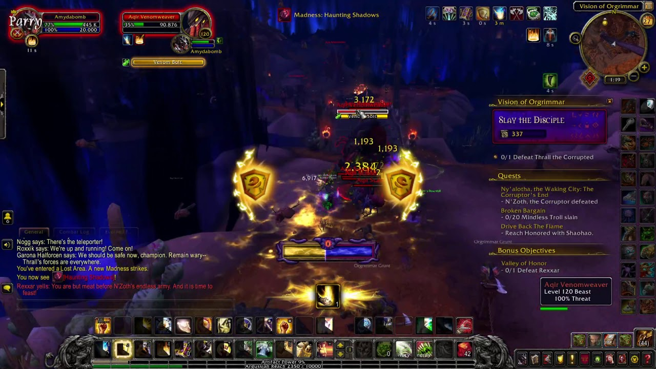 Download World of Warcraft- I run the other side of Orgrimmar.