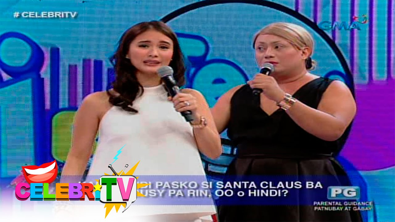 CelebriTV: Rhian Ramos vs Heart Evangelista on 'Di Ba Teh!'