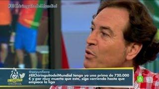 """El Chiringuito de Jugones Pipi Estrada: """"España está en la calle, no tiene alma"""""""