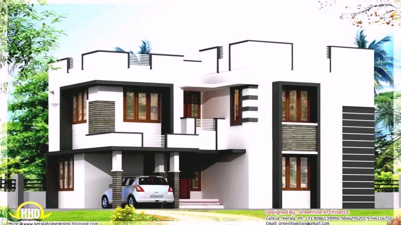 Modern Tropical House Design In The Philippines - YouTube