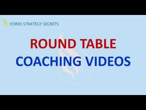 Forex Strategies and Secrets: Round Table Coaching Video Webinar