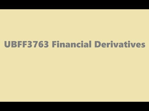 UBFF3763 Financial Derivative - Tutorial 4 - Continuous Compounding, Bonds, and Interest Rates