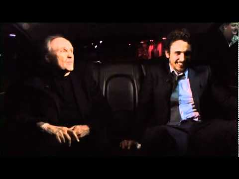 James Franco and Frank Bidart - karaoke (clip 1)